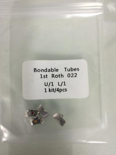 ortodoncia tubos adhesivos primeras molares roth o mbt 022