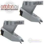 ortofon omega fonocaptor montado en cabezal original
