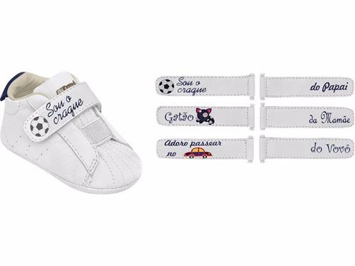 4ec337d1a Ortopé Tênis Troca Tiras Baby Menino Para Personalizar - R$ 140,90 ...