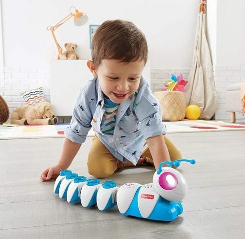 oruga juguete fisher price piensa y aprende codigo