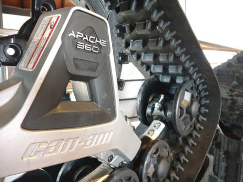 orugas apache 360 can-am defender hd10 hd8 - atv latitud sur