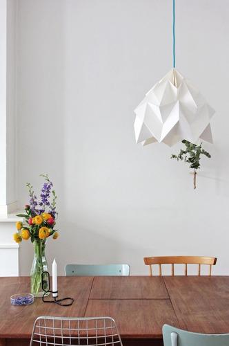 orygami mola en blanco, lampara colgante envío gratis!