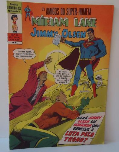 os amigos do super-homem - ebal nº10 - fevereiro 1971