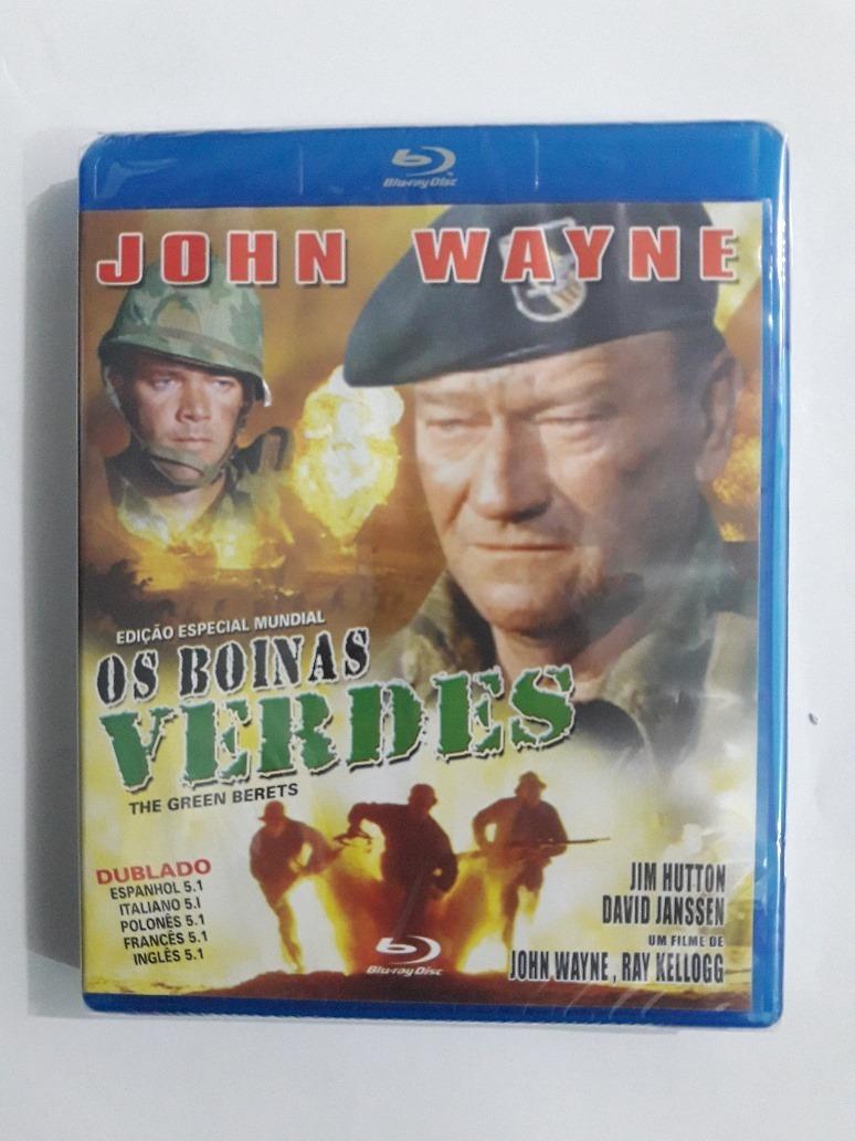 14b0ffeb22c8f Os Boinas Verdes - John Wayne Bluray Original Lacrado - R  59