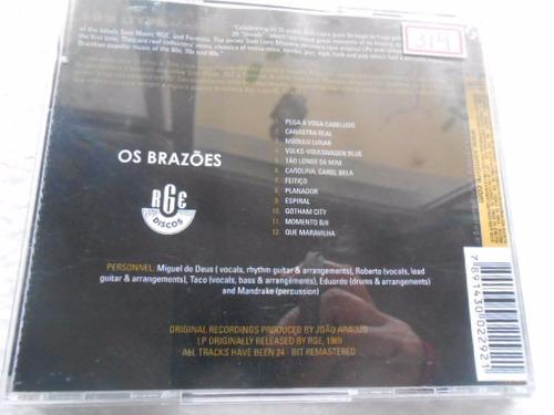 os brazões miguel de deus cd original som livre remasters