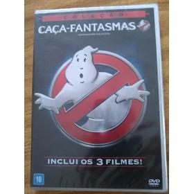 Os Caça Fantasmas Box Coleção Com 3 Filmes Em 3 Dvds Lacrado