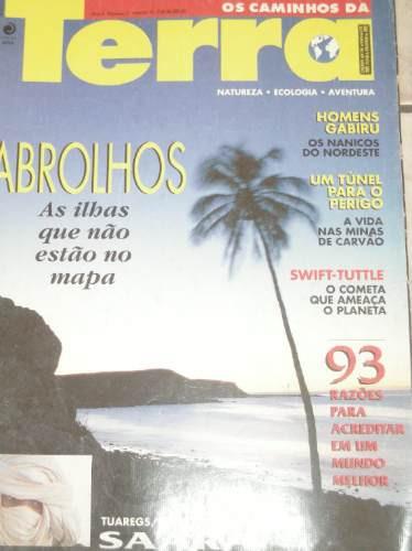 os caminhos da terra- n 1 janeiro 93-abrolhos