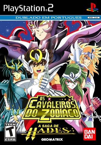 cavaleiros do zodiaco ps2