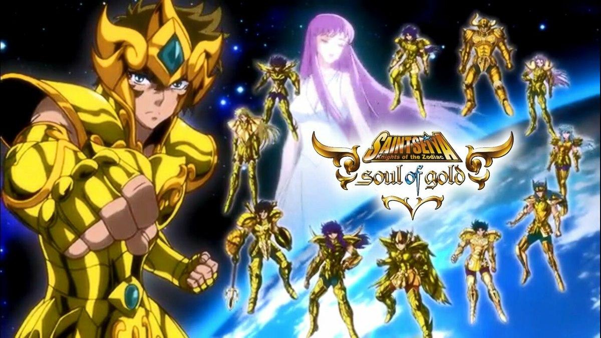 Os Cavaleiros Do Zodíaco - Soul Of Gold - R$ 35,00 em Mercado Livre