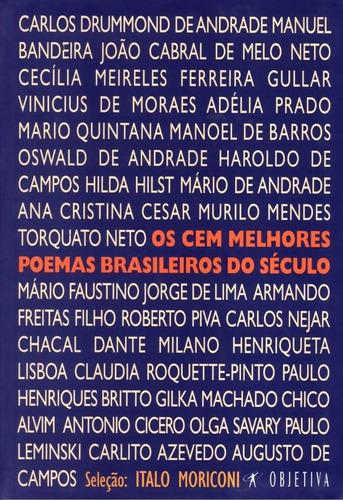 os cem melhores poemas brasileiros do seculo