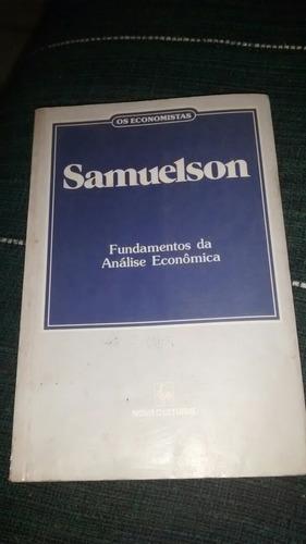 os economistas samuelson fundamentos de analise economica