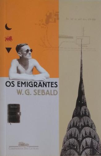 os emigrantes - w. g. sebald