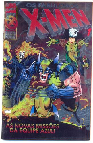 os fabulosos x-men nº 1 - 1996 - veja nossos gibis