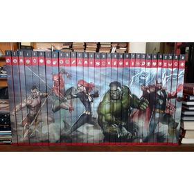 Os Hérois Mais Poderosos Da Marvel Coleção C/ 30 Unidades
