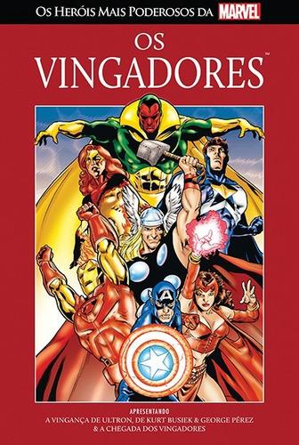 os heróis mais poderosos da marvel nº 01 - os vingadores