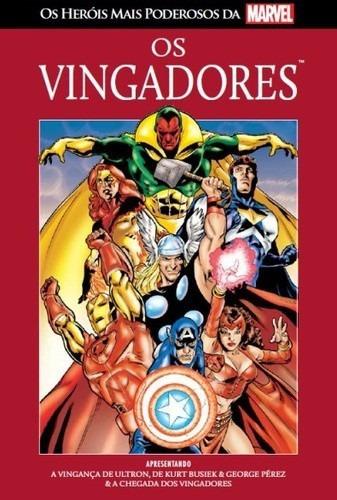 os herois mais poderosos marvel n 1 vingadores + poster