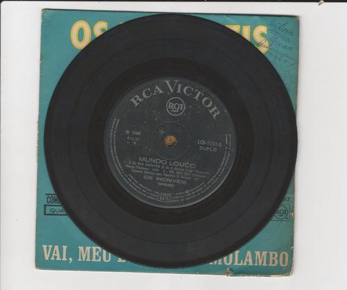 os incríveis 1968 mundo louco - compacto ep 13