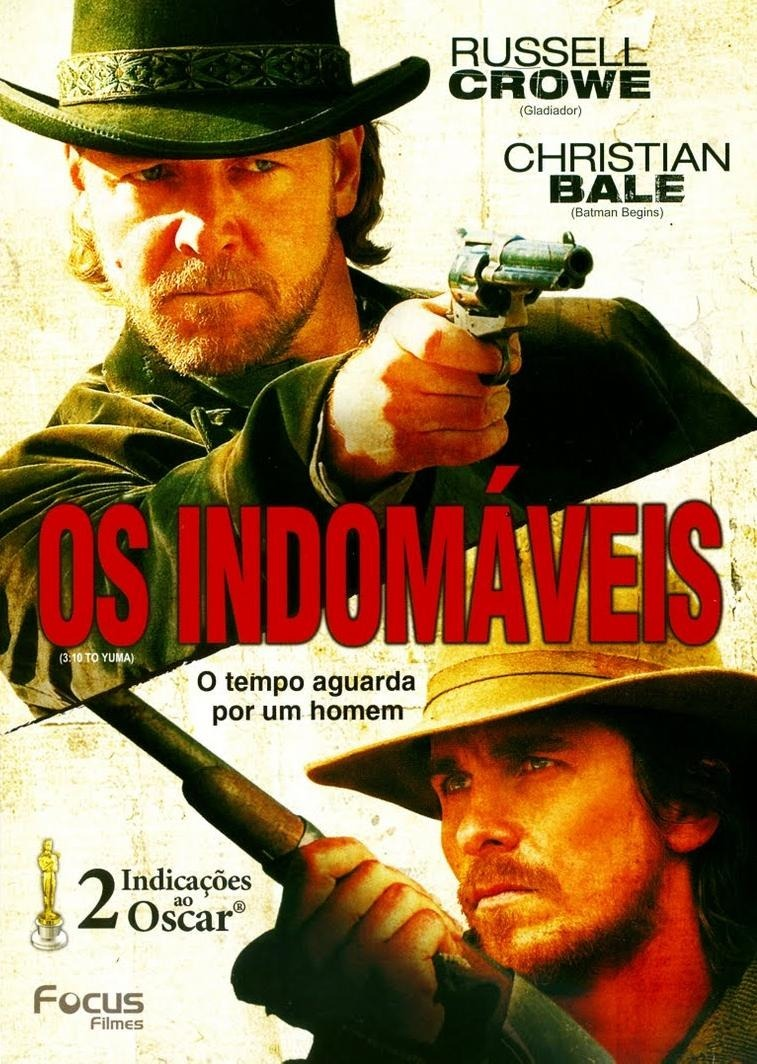 Os Indomveis Dvd Russell Crowe Christian Bale R