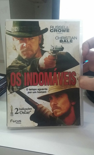 os indomaveis -russell crowe -christian bale -dvd