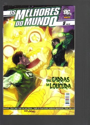 os melhores do mundo nº 5 - dc - panini comics