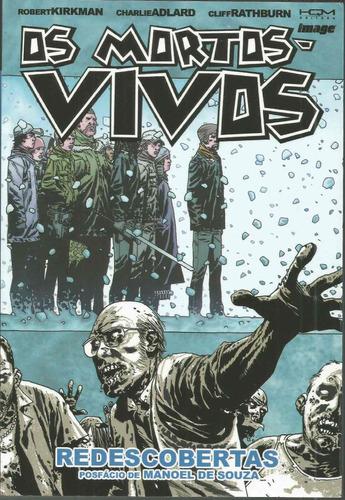 os mortos-vivos 15 com 152 paginas hqm - bonellihq cx312 e18