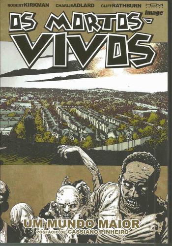 os mortos-vivos 16 com 144 paginas hqm bonellihq cx311 e18