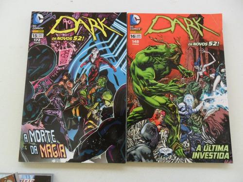 os novos 52! dark! vários números! r$ 15,00 cada!