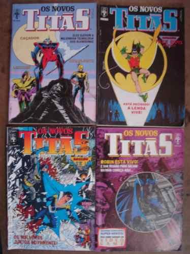 os novos titãs nºs 12 ao 126 ed. abril