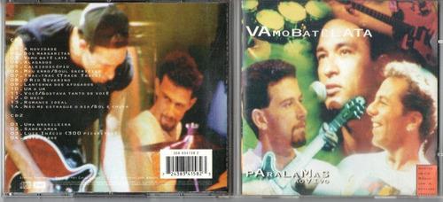 os paralamas do sucesso-vamo batê lata-2 cds novos raro lacr