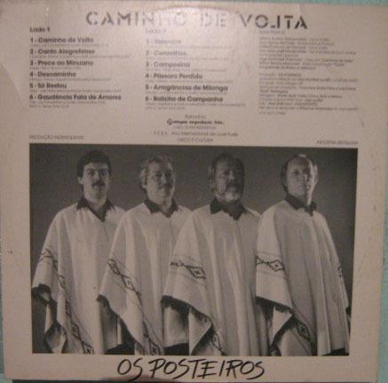 os posteiros - caminho de volta - 1985