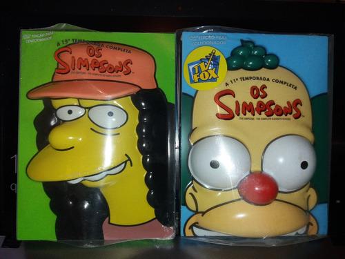 os simpsons 11 e 15 temporada edição especial cabeça