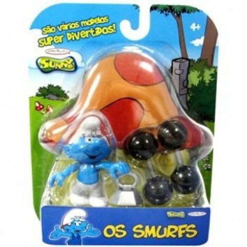 os smurfs - robusto - jakks pacific
