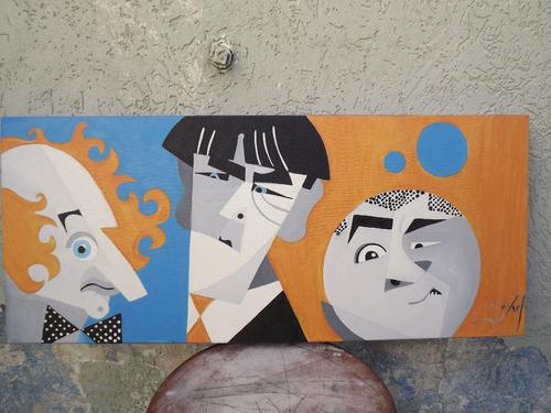 os três patetas cubistas