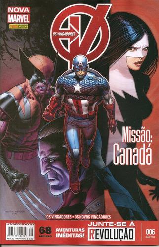os vingadores nº 06 missão: canadá