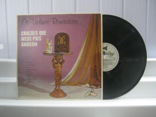 os violinos romanticos canções que meus pais amaram lp 1983