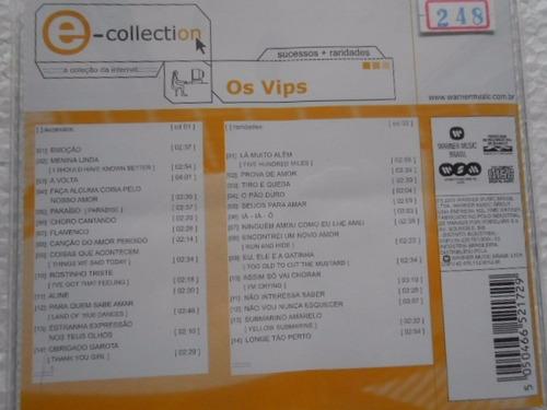 os vips e-collection cd original duplo perfeito