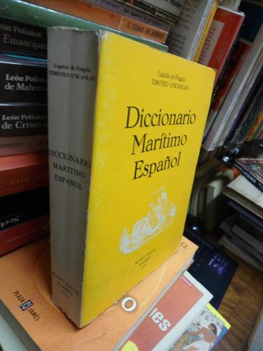 o'scanlan timoteo diccionario marítimo español