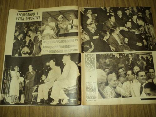 oscar a. galvez / eva peron / el grafico / 8 - 8 - 1952