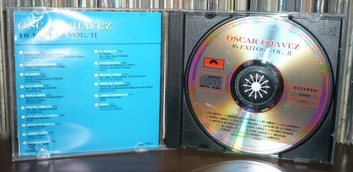 oscar chavez cd 16 exitos volumen 2