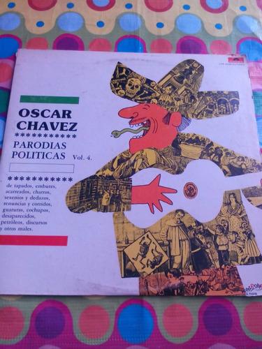 oscar chavez lp parodias politicas 1981