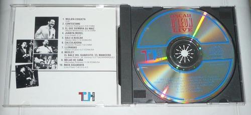 oscar d´leon cd live