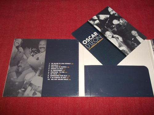 oscar d'leon  formula original cd digipack imp ed 1999 mdisk