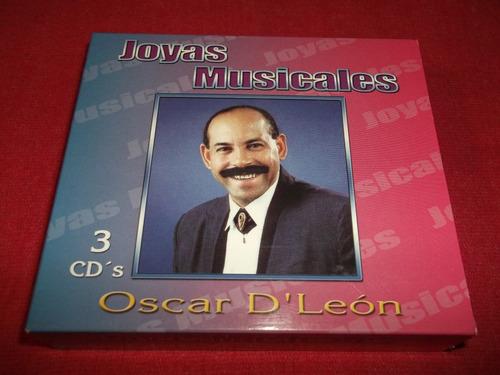 oscar d'leon - joyas musicales cd triple nac ed 2003 mdisk