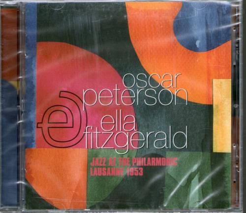 oscar peterson / ella fitzgerald - jazz at the philarmoniccd