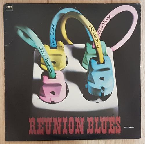oscar peterson ray brown reunion blues lp nacional 1971