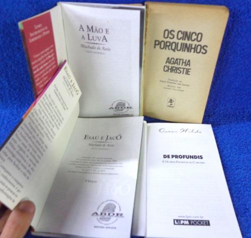 oscar wilde agatha christie machado de assis 4 livros