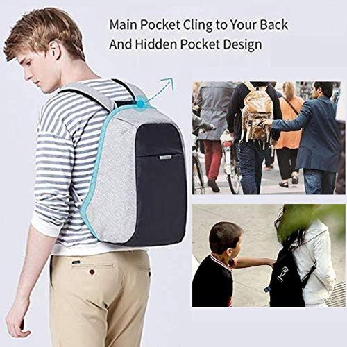 oscaurt mochila de viaje antirrobo oscaurt