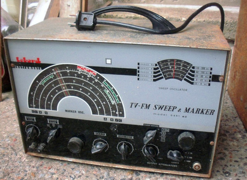 oscilador, barredor y marcador lebord mod. 6441