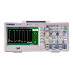 Osciloscópio Digital 100 Mhz 2 Canais Siglent Sds1102cml+