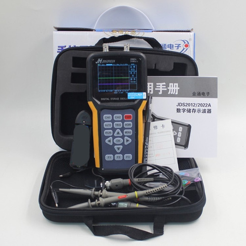 osciloscopio digital jds2022a dos canales